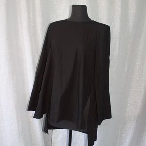 Zara Tops - Zara Women Oversized Black Blouse